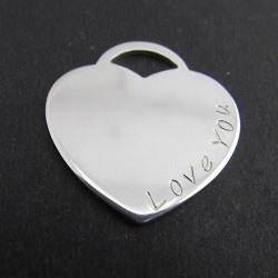 """Tiffany"" Style Love Heart 