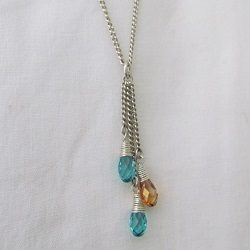 My Loves – Crystal Drop Pendant
