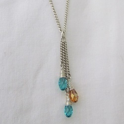 My Loves - Crystal Drop Pendant