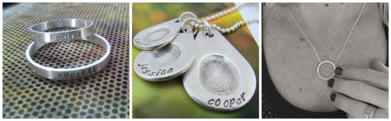 custom made personal meaningful jewellery