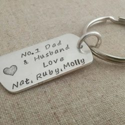 Tag of Love Key Ring