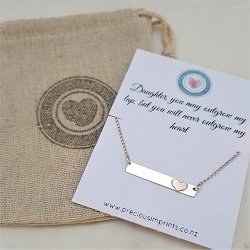 Daughter Necklace | Sterling Silver Necklace for Daughters | Gifts for Daughters