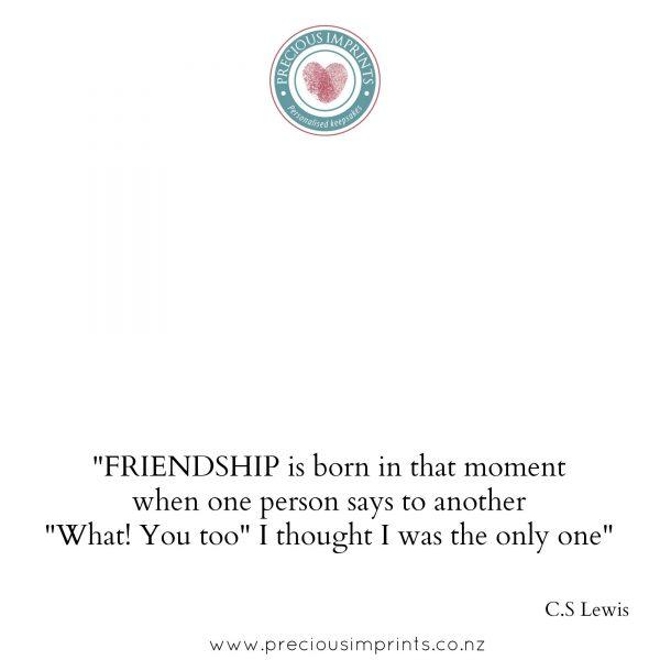Good Friends are like Stars