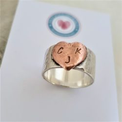 All My Love – Copper Heart Ring