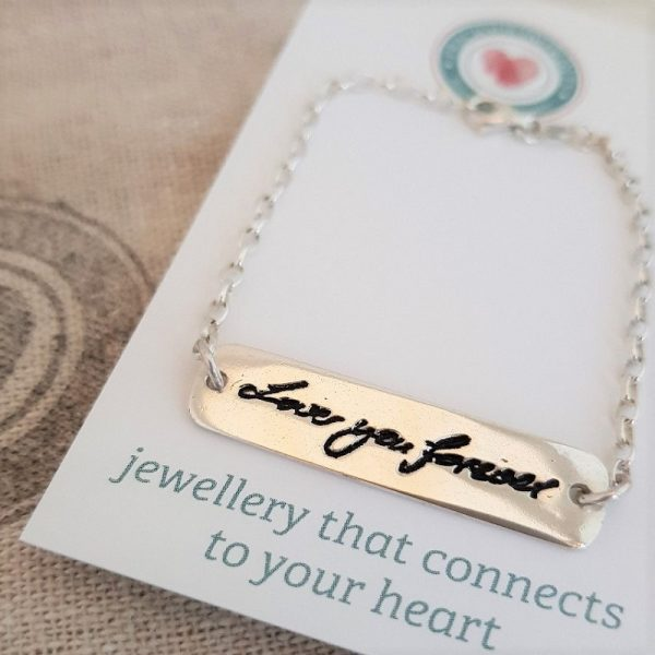handwriting jewellery