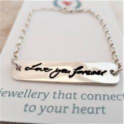 Handwriting Bar Bracelet