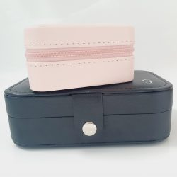 Monogrammed Travel Jewellery Box – Black