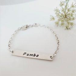 Bar Of Love Bracelet