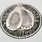 Precious Imprints Fingerprint Pendant