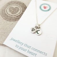 Precious Imprints Love You to the Moon and Back Necklace